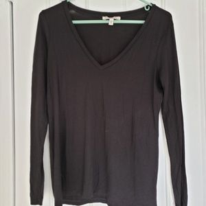 Express long sleeve black shirt